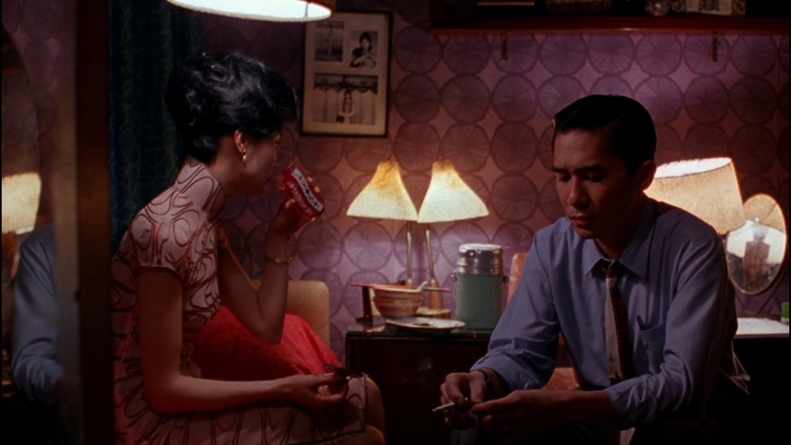 In the mood for love (2000). Imagen: Allstar/Cinetext/Jet Tone Production