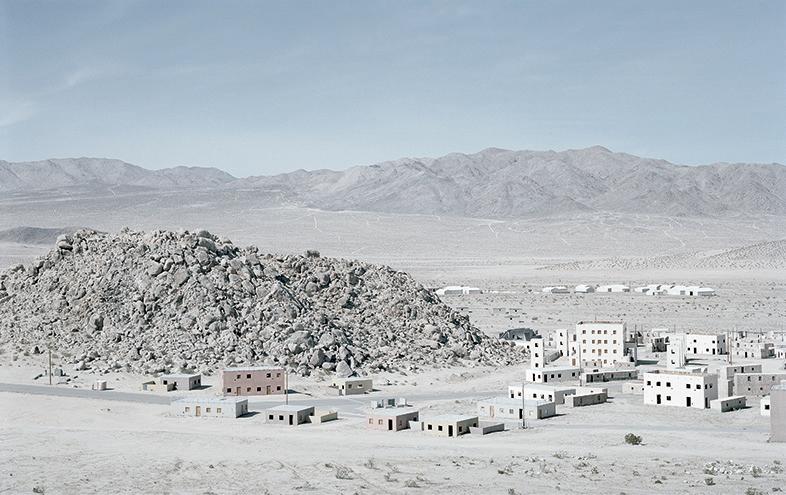 Tiefort City, Fort Irwin, US Army, Majave Desert, California, USA 2016, Copyright Gregor Sailer
