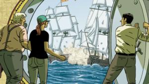 Paco Roca dibuja la historia de los «piratas» del siglo XXI que expoliaron el tesoro de La Merced