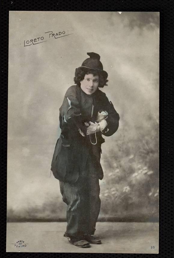 Loreto Prado actuando