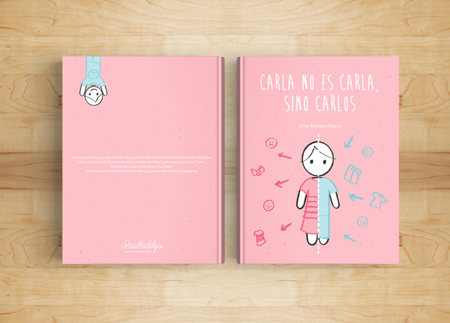 'Carla no es Carla, sino Carlos', un cuento infantil trans