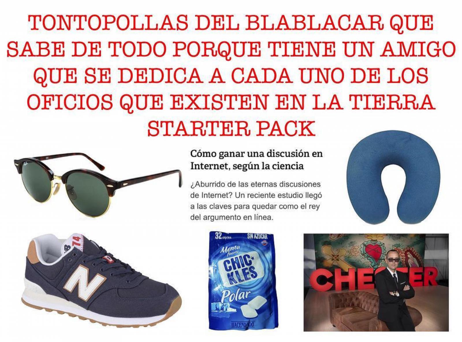 Spanish Starter Packs: memes para un país con más personajes que personas