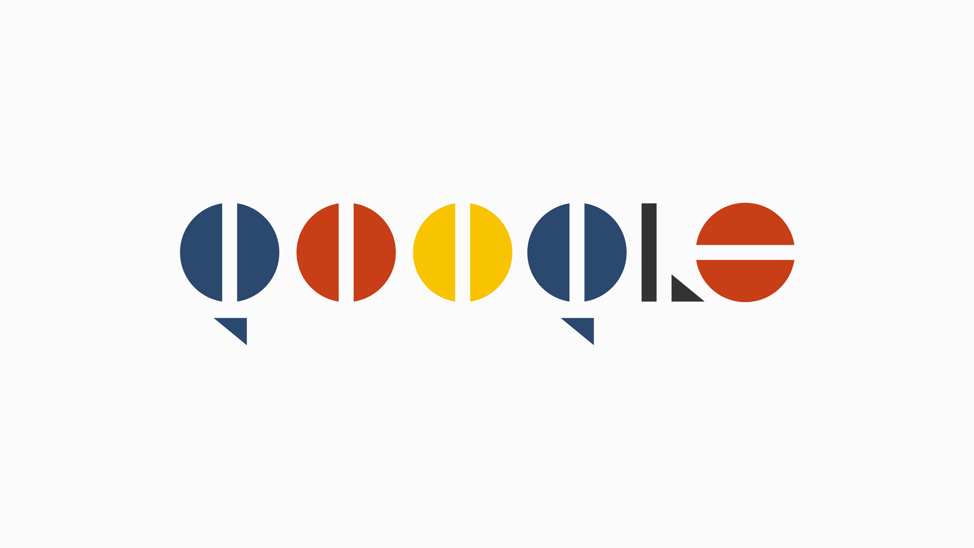 Logos Bauhaus Asi Serian Netflix O Google Interpretados Por Esta