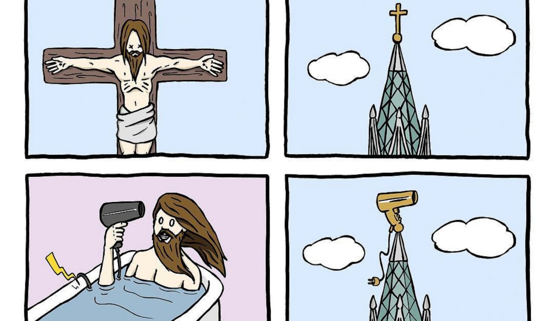 Rémi Lascault o por qué las iglesias podrían usar secadores en vez de cruces