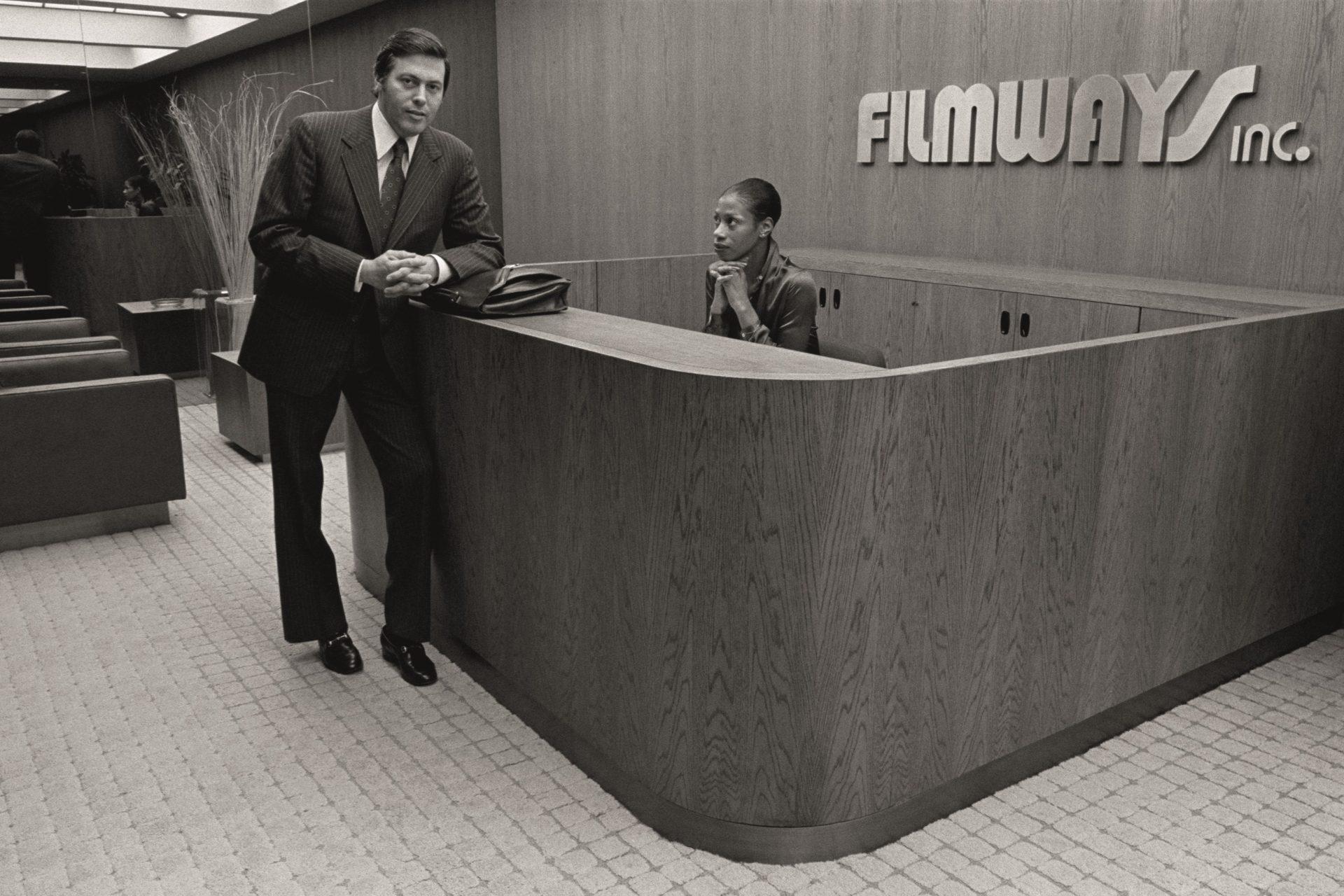 'Espere en recepción': fotos vintage del EEUU corporativo
