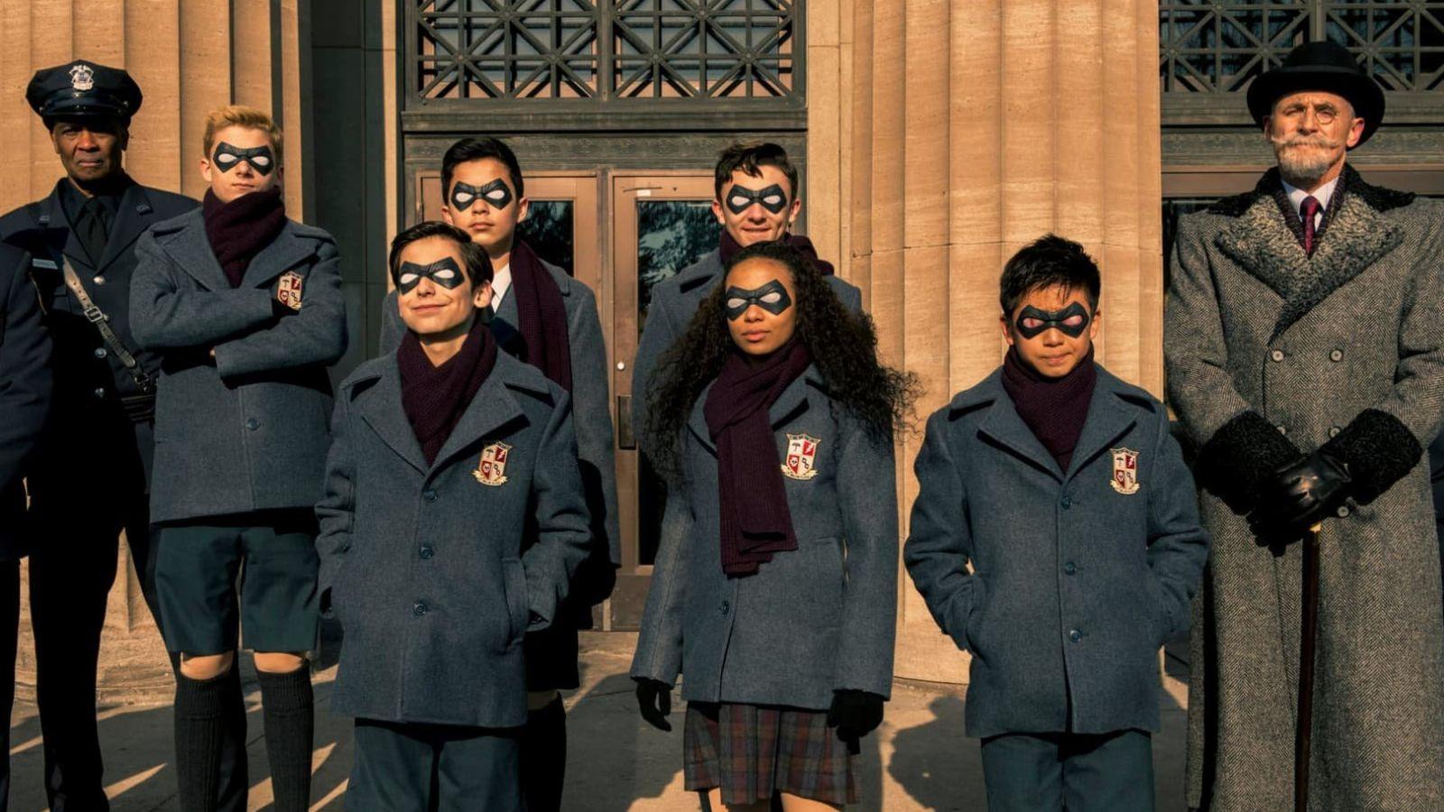The Umbrella Academy. Imagen: Netflix.