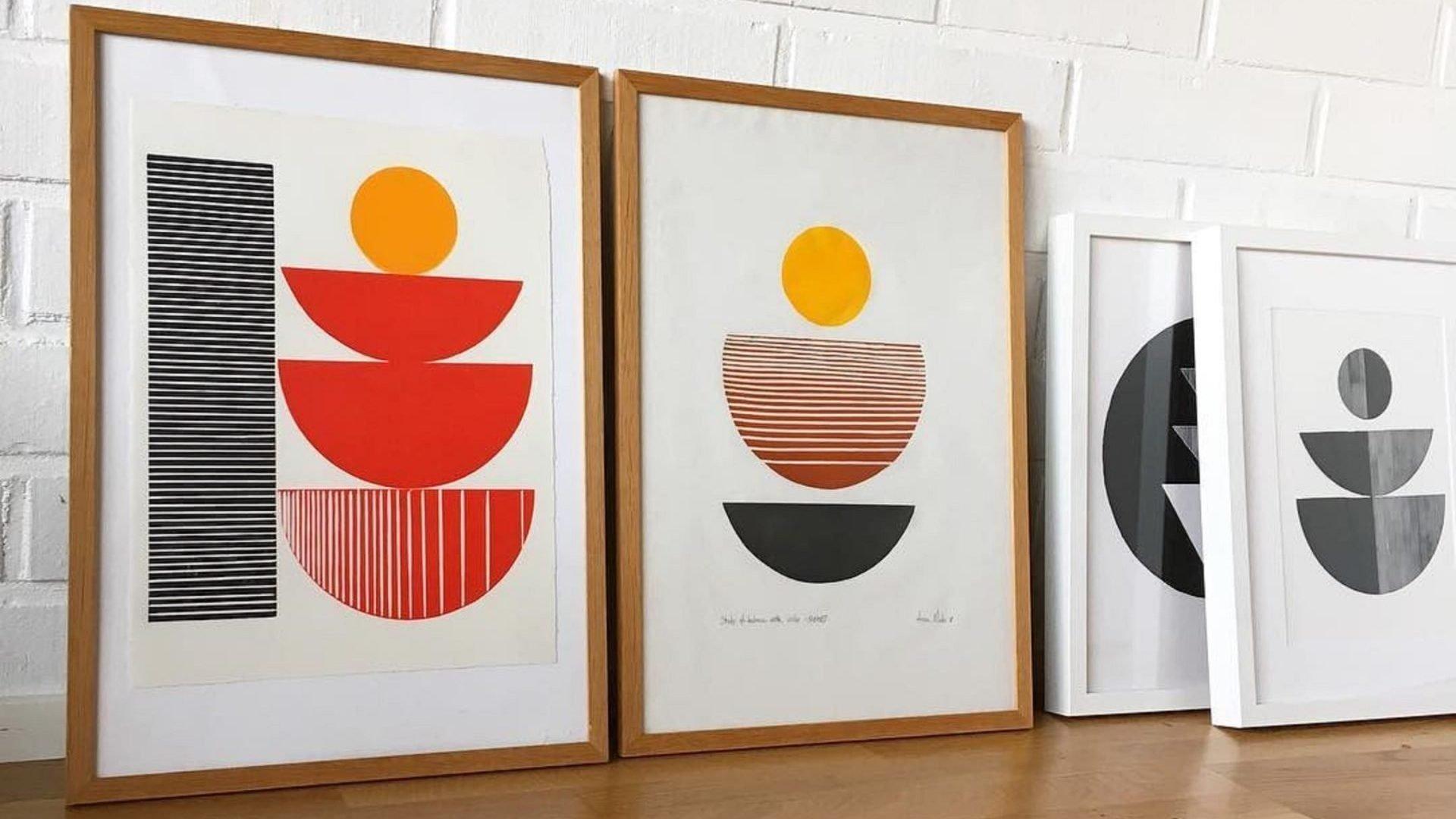 BcnTku: dibujos geométricos para buscar el equilibrio