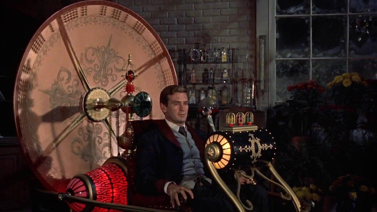 La maquina del tiempo (1960). Imagen: MGM.