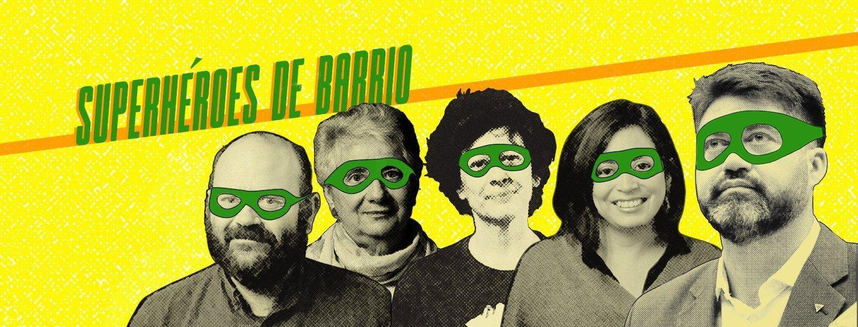 superheroes de barrio