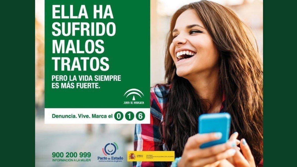 Campaña contra la violencia de género de la Junta de Andalucía