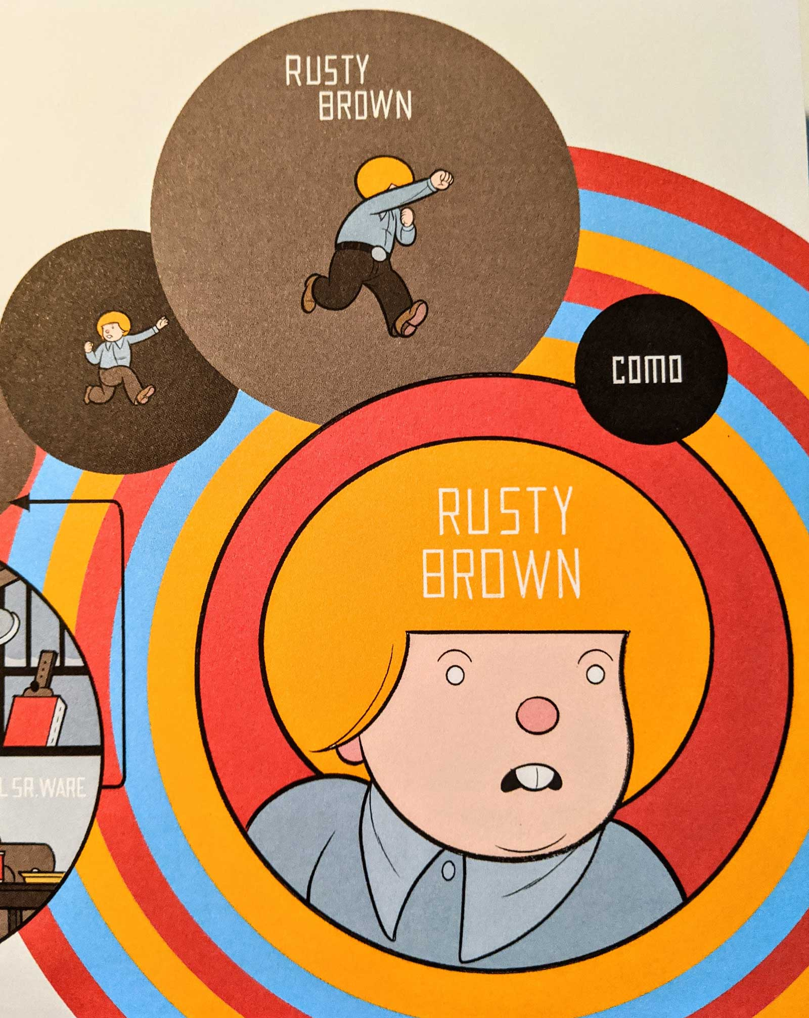rusty-brown