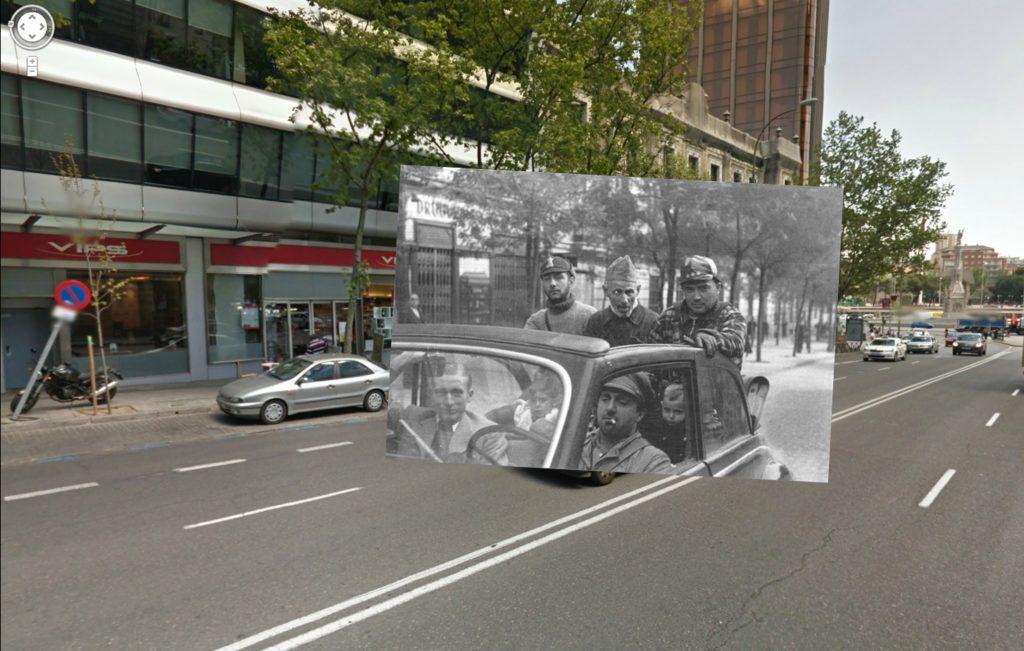 Calle Génova (1936). Colección Archivo Histórico del PCE.