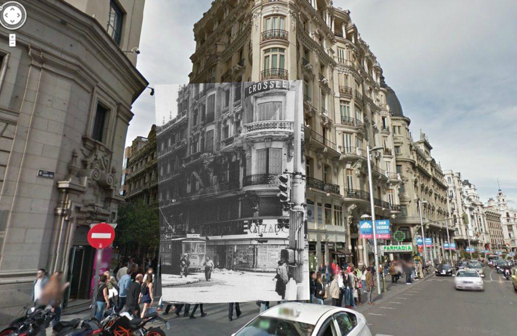 Calle Fuencarral (1937). Coleccion de la Biblioteca Nacional.