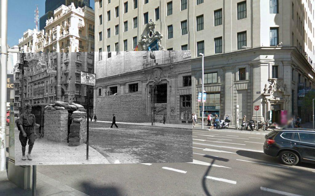 Gran Vía (1936). Colección Archivo Histórico del PCE.