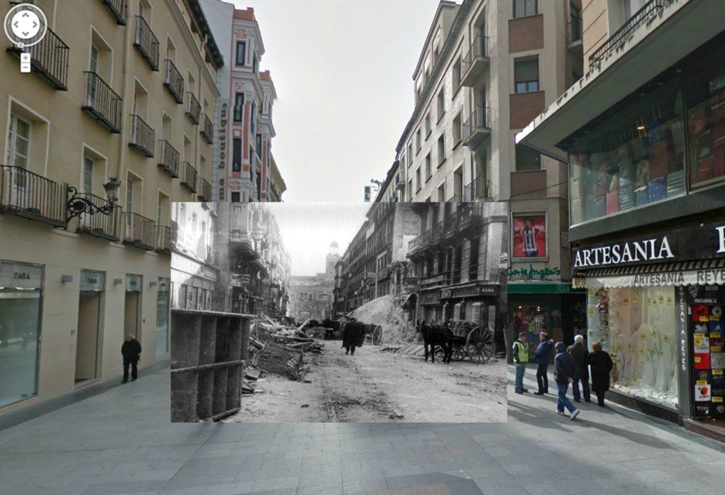 Calle Preciados (1937). Colección AGA (Archivo General de la Administración).