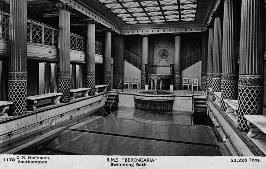 Piscina, RMS Berengaria,