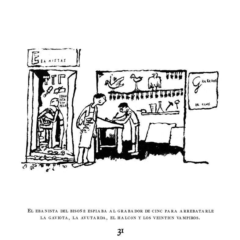 Ejercicios de ilustración y ortografía según Juan Berrio