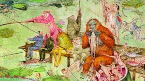Entre el cine y la pintura: las batallas épicas de Mu Pan