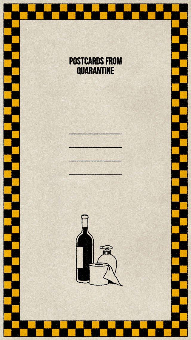 postales de cuarentena