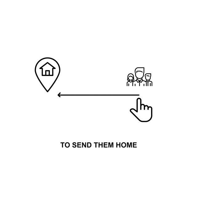 Mándalos a casa