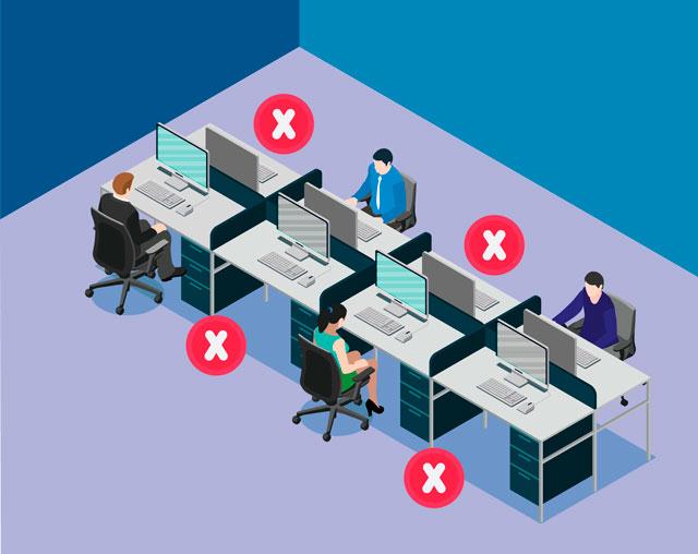 como reabrir oficinas