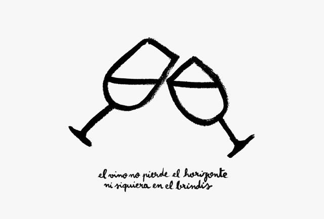 Los dibujofrases de Manuel Moranta, la poderosa fuerza de una idea sencilla