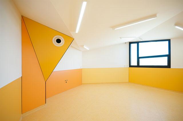 escuela infantil modular hexagonal