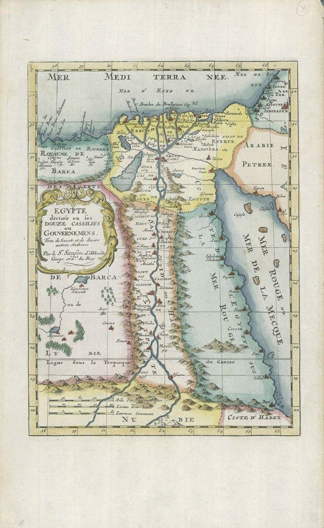 mapas de papel