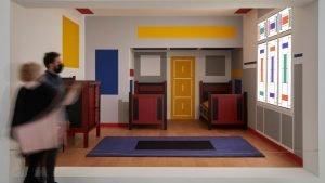 Dormir en un cuadro de Mondrian, el más moderno de los modernos