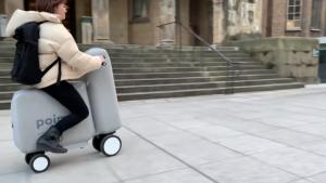 Poimo, la moto hinchable que puedes llevar en una mochila