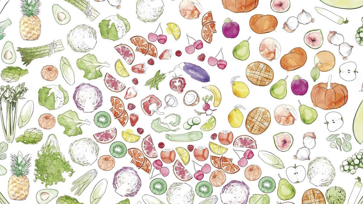 El calendario de frutas y verduras de temporada de Konsulandia: ¿Pero cuándo se comen las alcachofas?