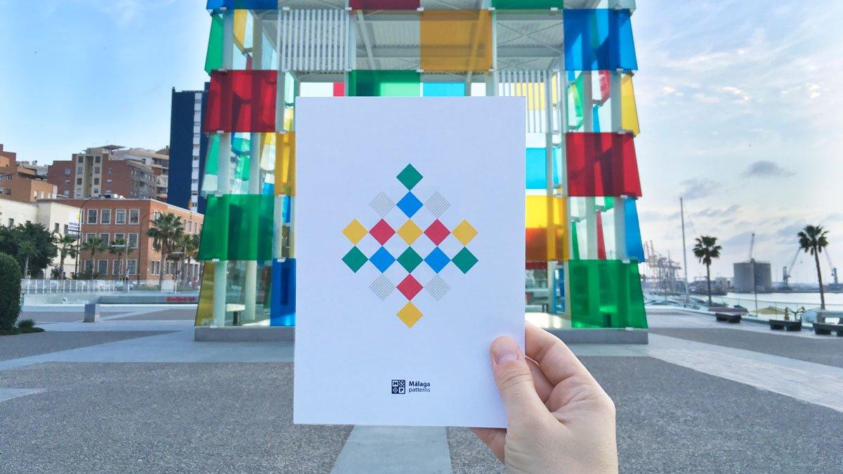 La identidad visual de Málaga la definen sus patrones geométricos
