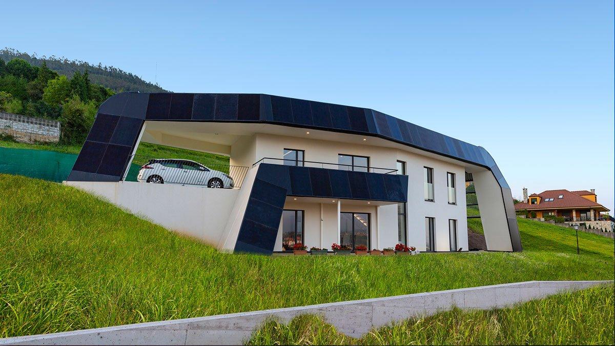 La casa solar que funciona sin sol
