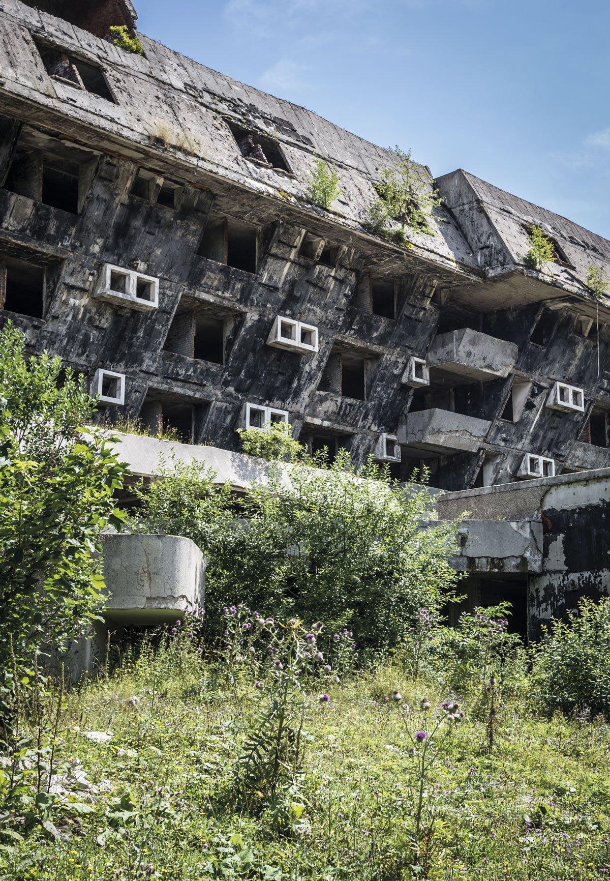 estructuras olímpicas abandonadas
