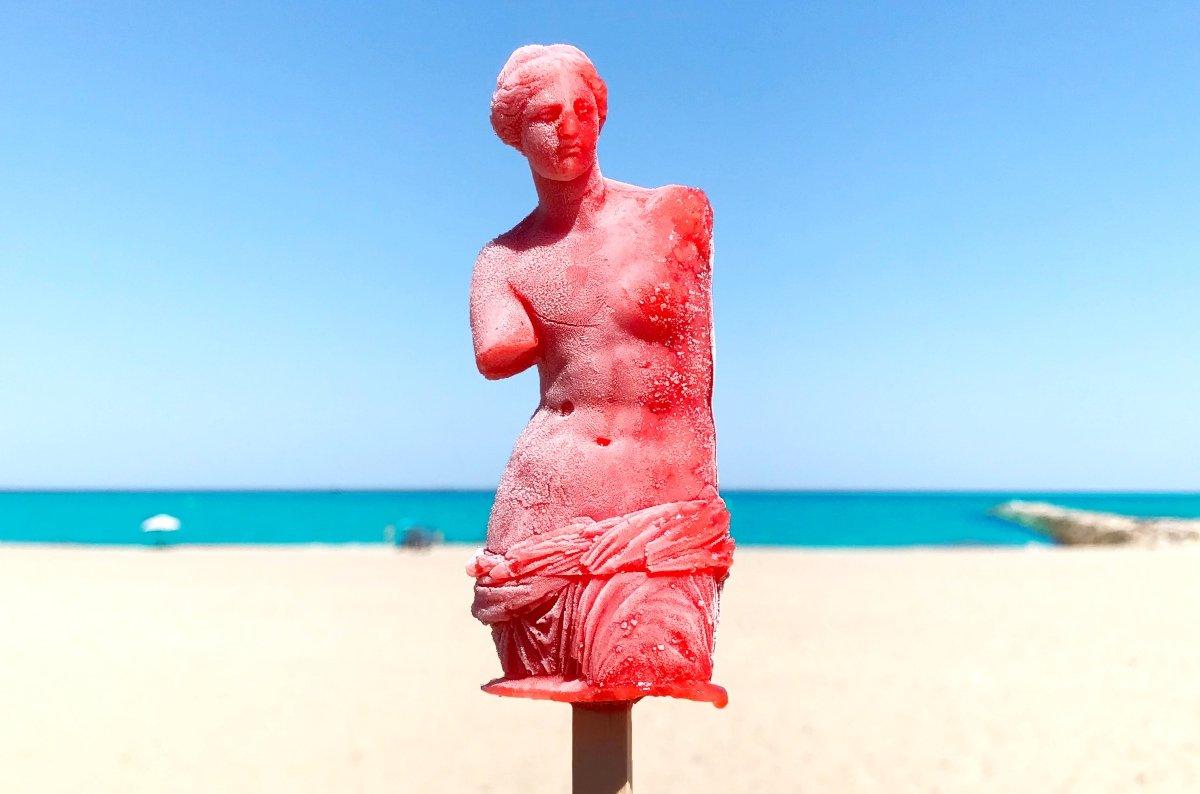 La Venuseta, el helado de una Venus sin teta que recauda fondos contra el cáncer de mama